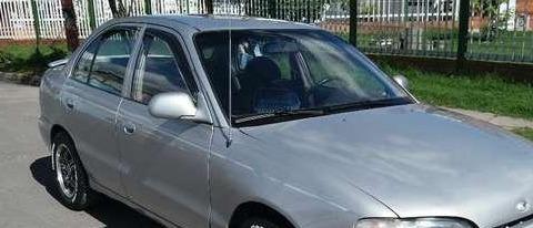 deflectores tejas negras hyundai accent 1998 y similar x 4