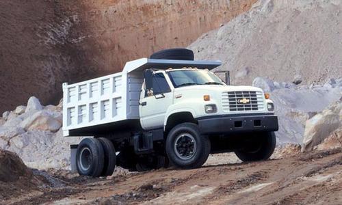 deflectores tejas negraspestaña camion chevrolet kodiak x 2