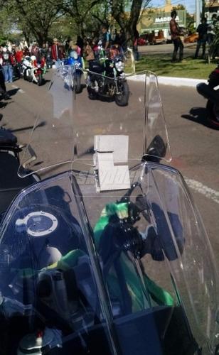 defletor alongador bolha original triumph tiger 800 até 2018