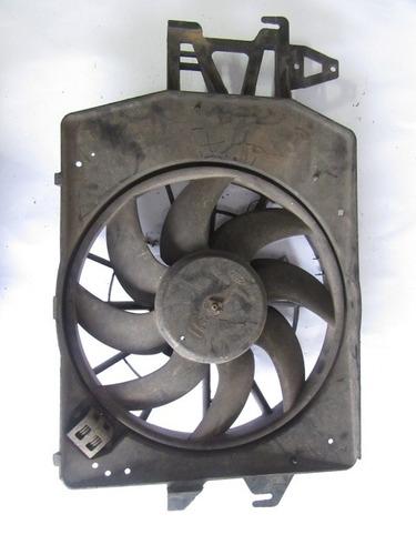 defletor c/ motor e ventoinha escort zetec original