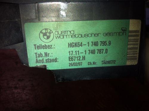 defletor condensador bmw 540 v8 original