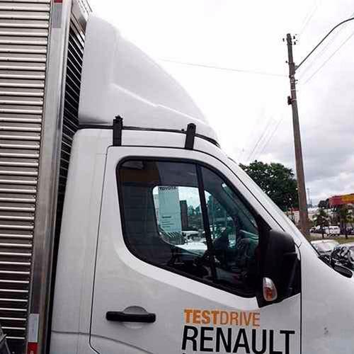 defletor de ar para renault master 2014 parcial