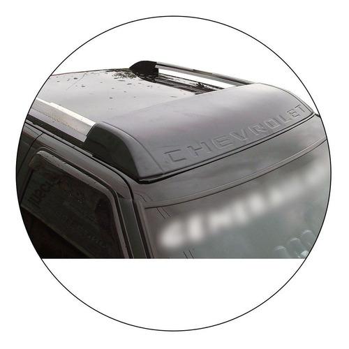 defletor de teto s10 2009 2010 2011 aplique para longarina