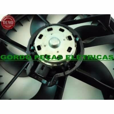 defletor + motor da ventoinha renault sandero 16v sem ar