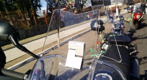 defletor para bolha original triumph tiger 800 marca skydder