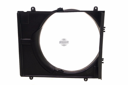 defletor radiador l200 triton 3.2 07/16 pajero daka original