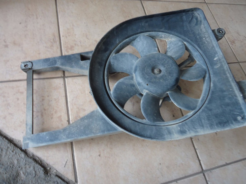 defletor ventoinha radiador fiesta zetec 00  01 02 sem motor