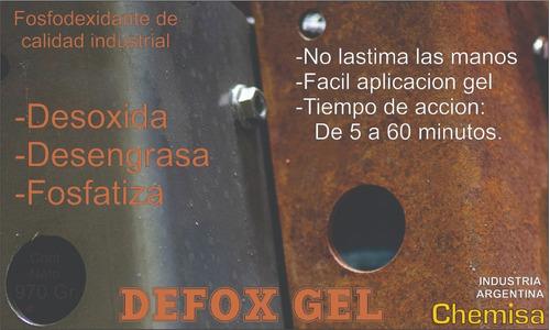 defox g desoxidante gel
