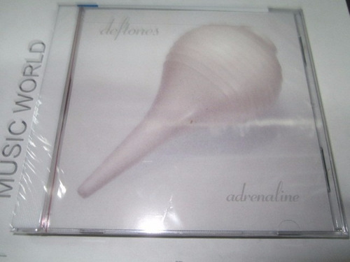 deftones adrenaline cd  nuevo disponible ! importado u.s.a