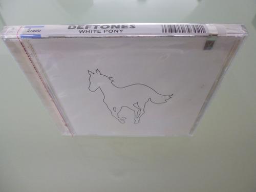 deftones / white pony / cd / importado de u.s.a / sellado /