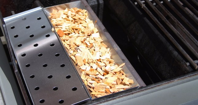 Defumador Para Churrasqueira Smoker Box Wood Chip R 90