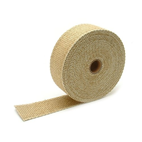dei 010102 exhaust heat wrap 2 x 50 roll tan