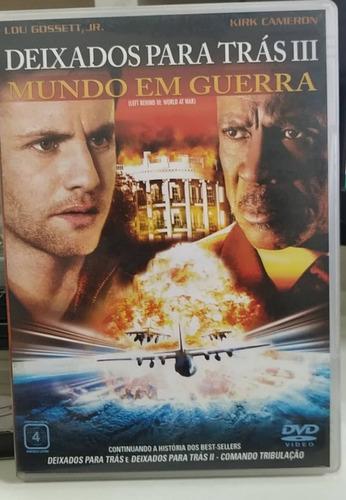 deixados para trás  3 - mundo em guerra -dvd