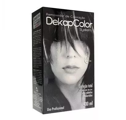 dekapcolor removedor de coloração 400ml - sem amonia