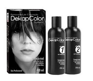 dekapcolor system removedor de coloração-100%original+nota f
