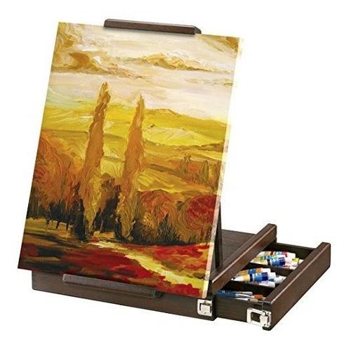 del artista loft caja caballete de mesa