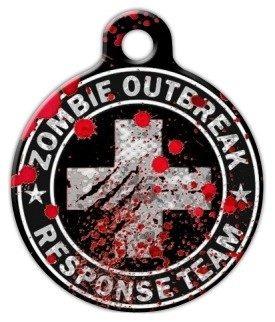 del brote del zombi equipo de la respuesta del médico del a
