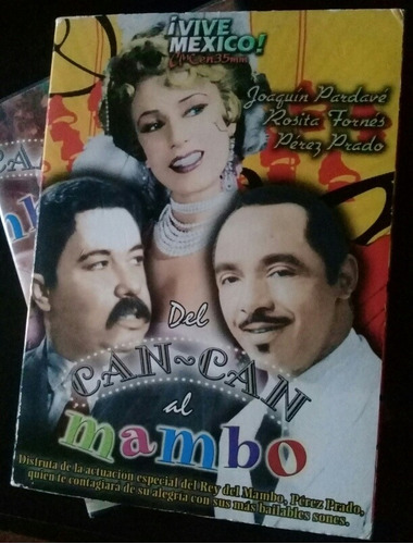 del can-can al mambo, joaquín pardavé, rosita fornés. dvd.