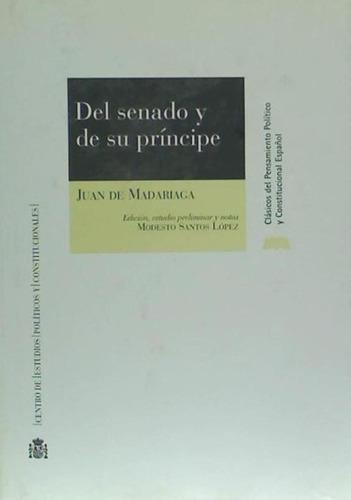 del senado y de su príncipe(libro )
