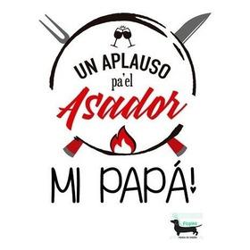 Delantal Cocina Personalizado Para Papá! Asador Cheff