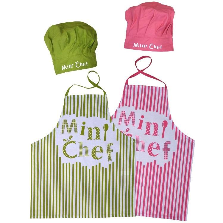 Bonito delantales y gorros de cocina para ni os galer a de im genes manualidades y artesanias - Delantales y gorros de cocina para ninos ...