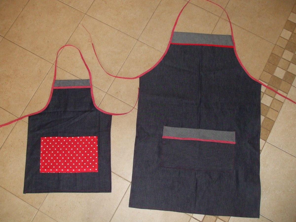 ac542b49b87 Delantal De Cocina Para Niños De Jean - $ 450,00 en Mercado Libre