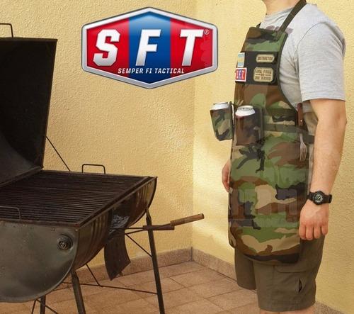delantal de despliegue rapido para parrilladas-bbq - sft®