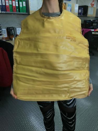 delantal de plomo para rayos x protección radiológica