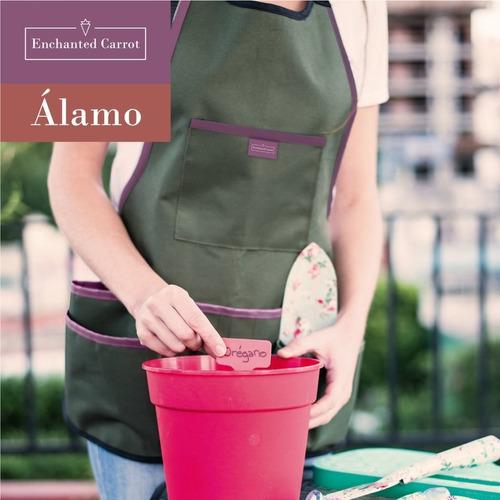 delantal jardineria reforzado cocina enchanted carrot álamo