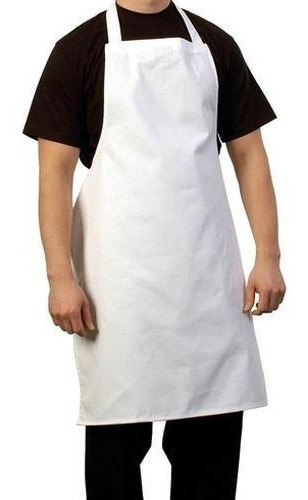 delantales carnicero gastronomico cocina ecocuero  70x125 cm