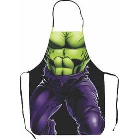 Delantales De Superheroes - Hulk