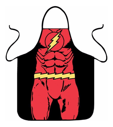 delantales de superheroes - flash