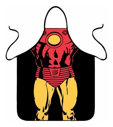 delantales de superheroes - iron man