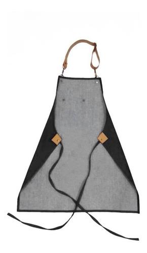 delantales jean y cuero unisex porta repasador o toalla