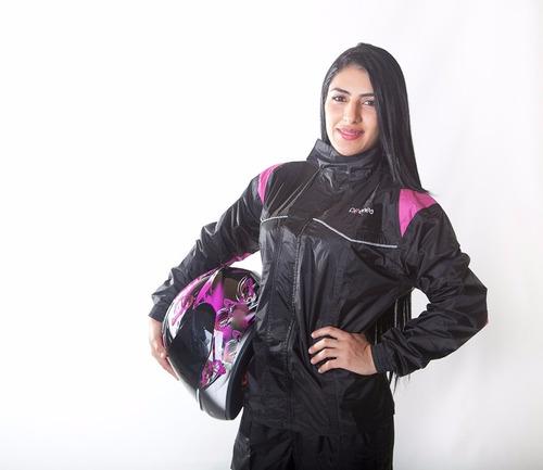 delatex impermeable moto original mujer envió gratis