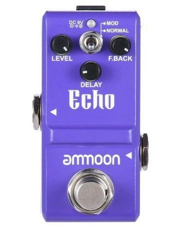 delay echo pedal nano ammoon super pequeno pronta entrega
