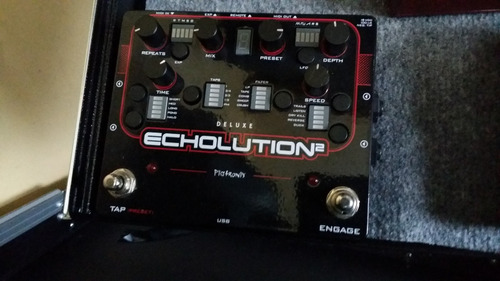 delay pigtronix echolution 2 deluxe guitar effects pedal