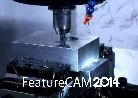 delcam featurecam 2014 32-64 bits diseño cad cam cnc español