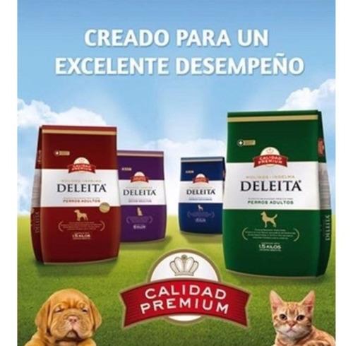 deleita premium perros adultos 15 kg