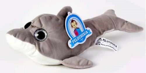 delfin de peluche 30 centimetros de largo
