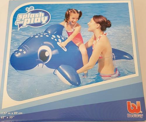delfin inflable bestway 1,57m x 0,89m oferta la golosineria