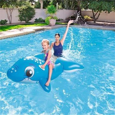 delfin inflable pileta bestway / open-toys avellaneda 55