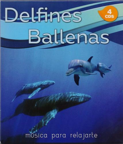 delfines y ballenas musica para relajarte 4 discos cd