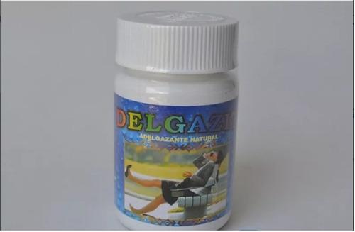 delgazit adelgaza naturalmente paquete x 3 frascos