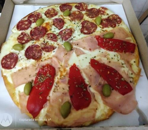 delibery de pizzas y empanadas  y minutas