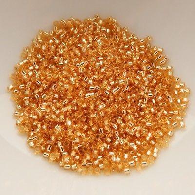 delica miyuki db042 gold silver 3 tubos de 7.2 gramos