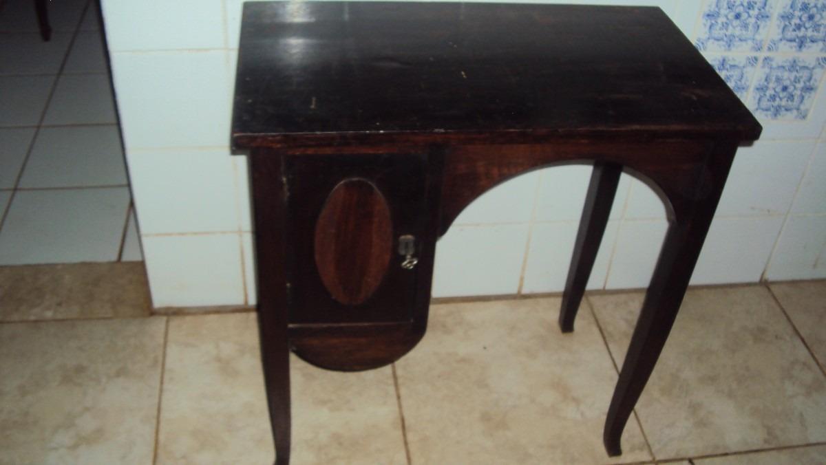 Adesivo De Madeira Para Moveis ~ Delicada Escrivaninha Mesa Aparador Antiga R$ 1 200,00 em Mercado Livre