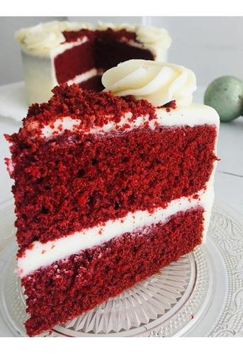 deliciosa y delicada red velvet cake