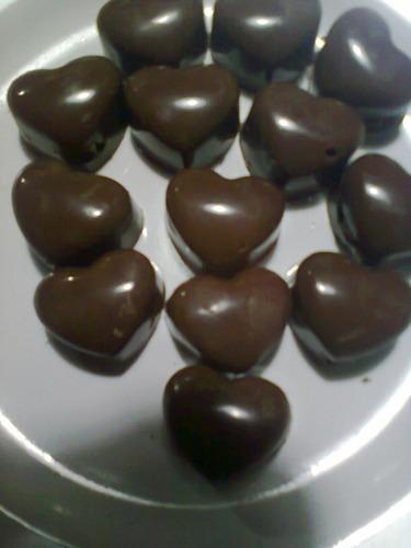 deliciosos bombones corazon