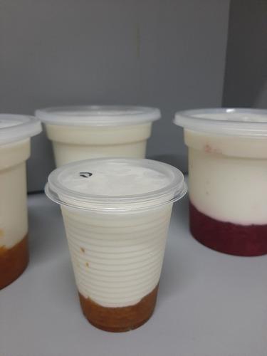 deliciosos y cremosos yogurt artesanal